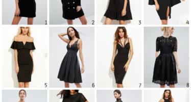 Väike must kleidike