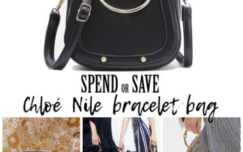 Kuluta või säästa – Chloé Nile Bracelet kott
