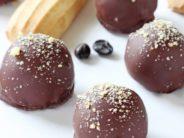 Šokolaadi trühvlid pähklitega