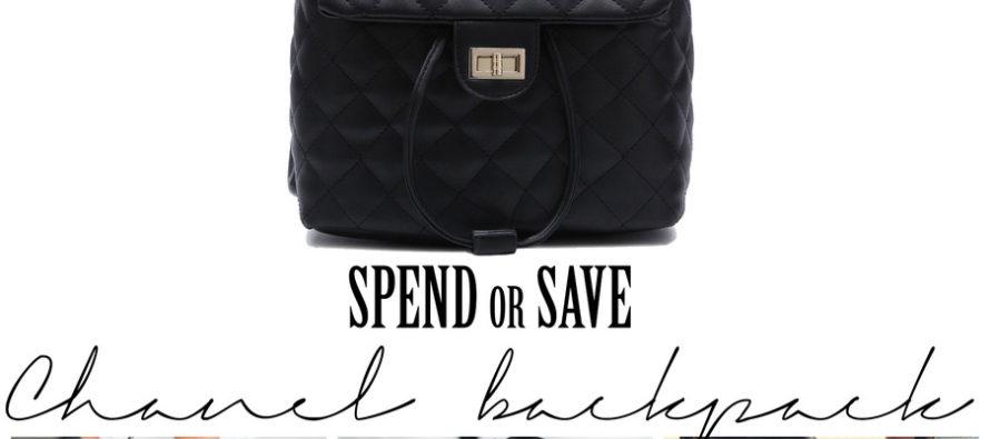 Kuluta või säästa – Chanel'i seljakott