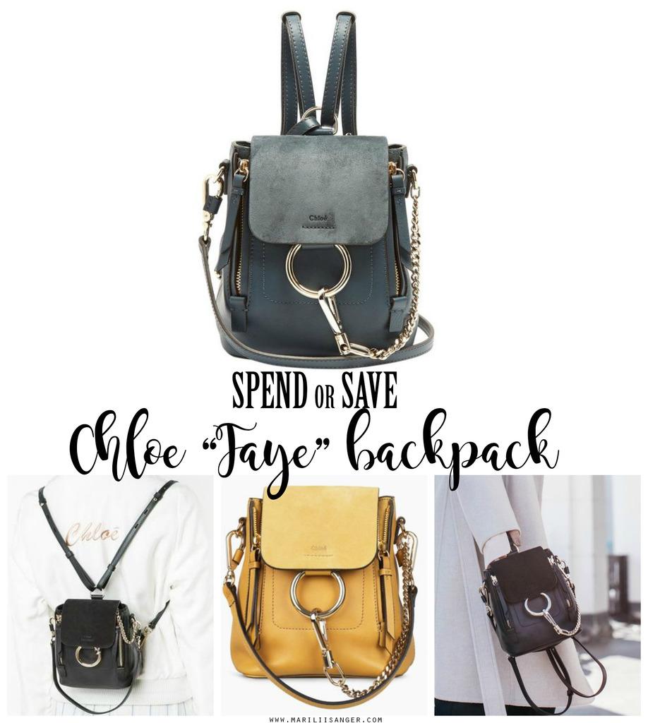 chloe faye backpack mariliis anger seljakott spend or save