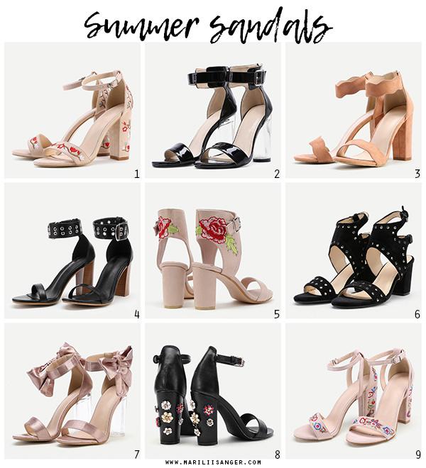 summer sandals shoes mariliis anger suvised kingad