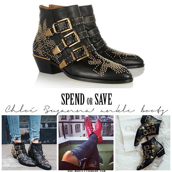 Chloe Susanna studded ankle boots - Look for less - Mariliis Anger - Needitud poolsaapad