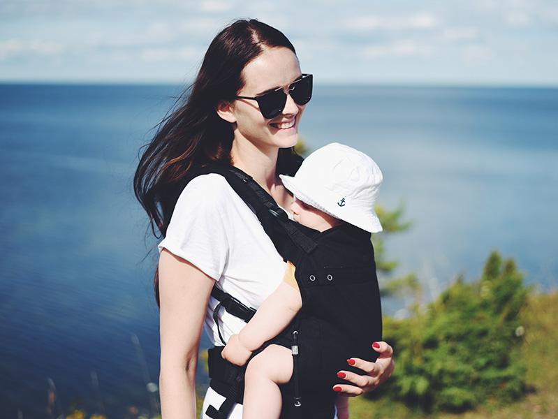 ergonoomiline kandekott beebi laps kõhukott liliputi mariliis anger ergonomic babycarrier