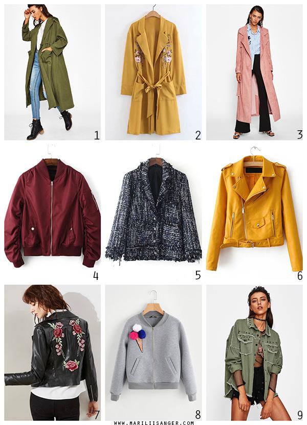 Shein autumn fashion jacket - Marliis Anger - sügismood jakid joped