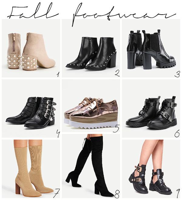 Fall autumn footwear boots Shein - Mariliis Anger - Jalanõud saapad sügiseks sügismood