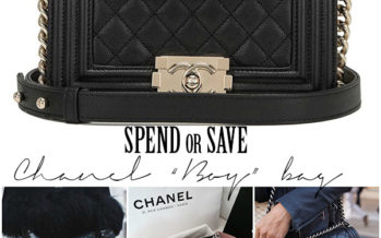"Chanel ""Boy"" kott"