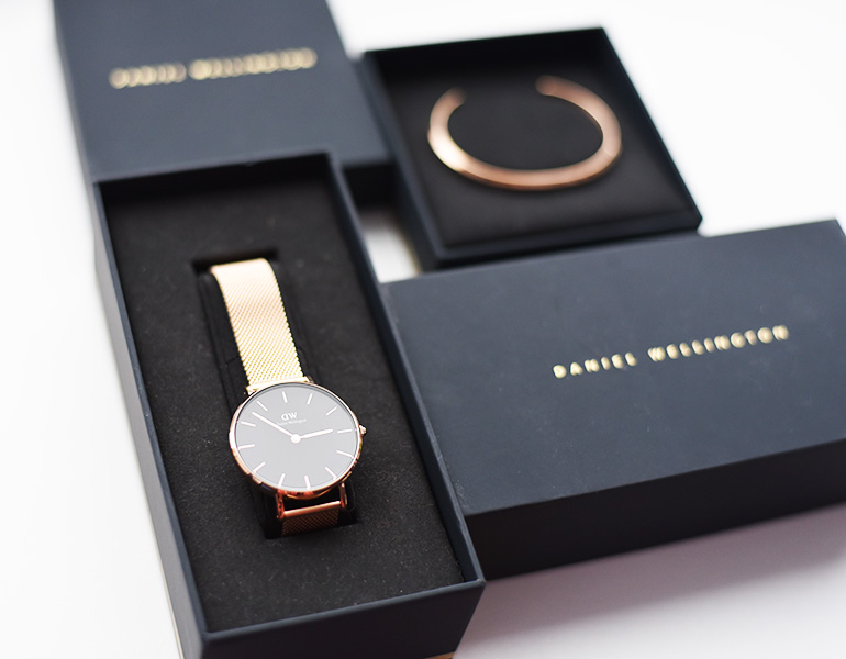 Daniel Wellington rosegold watch cuff Mariliis Anger