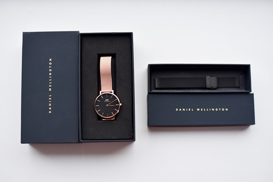Daniel Wellington rose gold classic Melrose watch - Mariliis Anger