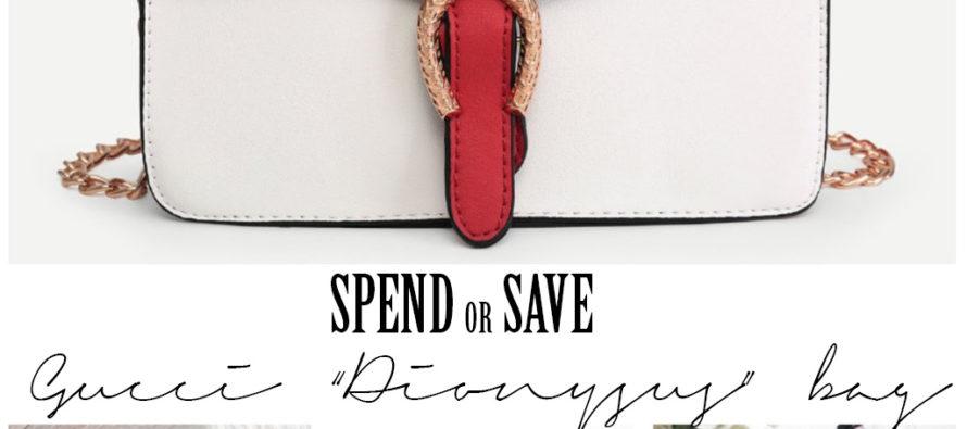 """Kuluta või säästa: Gucci """"Dionysus"""" kott"""